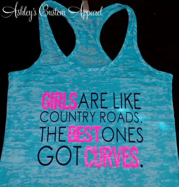 Country Tank Country Roads Southern Tank Country Quotes Etsy Classy Tank Girl Quotes
