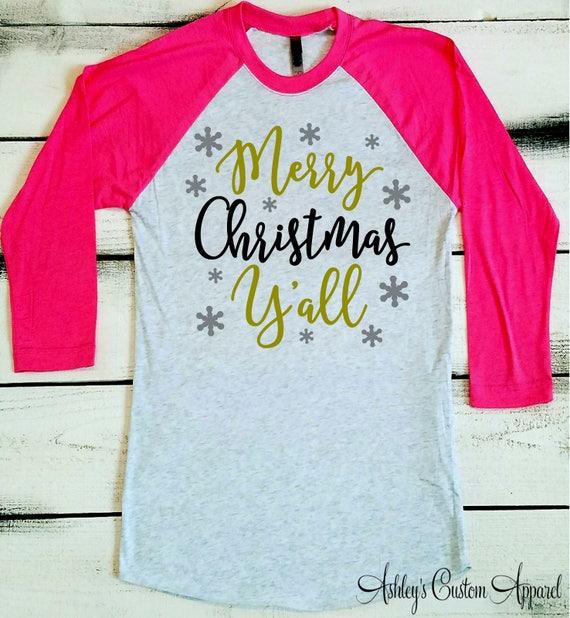 3ae7d91902c1 Christmas Shirts for Women Christmas Shirt Merry Christmas | Etsy
