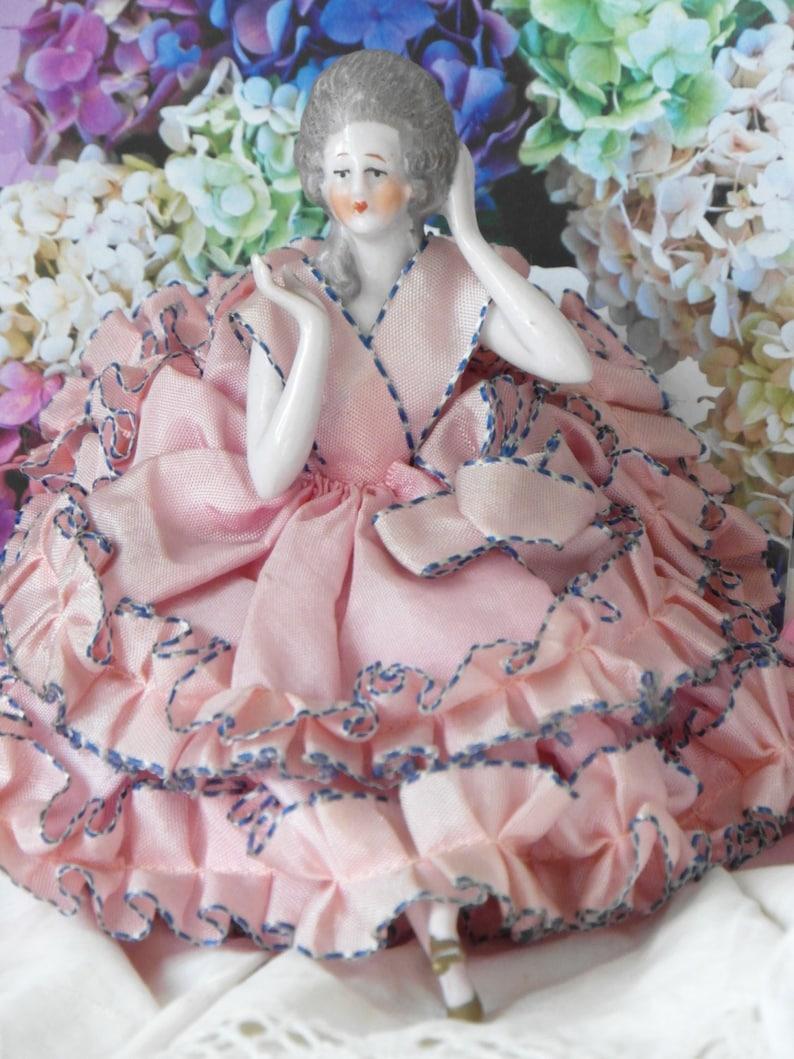 048732978256 Bambola di porcellana antica Spedizione gratuita aiutato