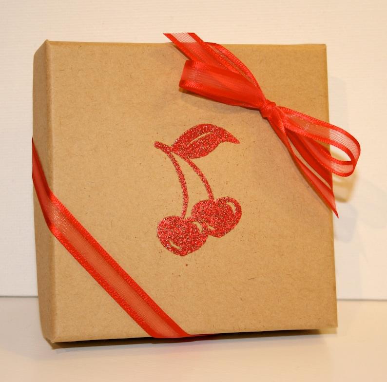 Valentine S Day Gift Box Red Cherries Embossed Gift Boxes Paper Gift Box Jewelry Gift Boxes Decorative Gift Box