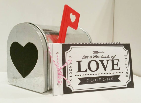 love coupon book valentine s day mother s day etsy
