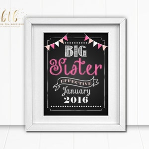 Only Child Expiring Big Brother Big Sister Baby Due Photo Prop Chalkboard Photo Prop Announcement Printable Sign Print
