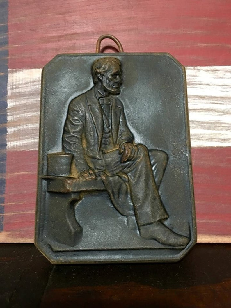 Abraham Lincoln Beeswax Hanger