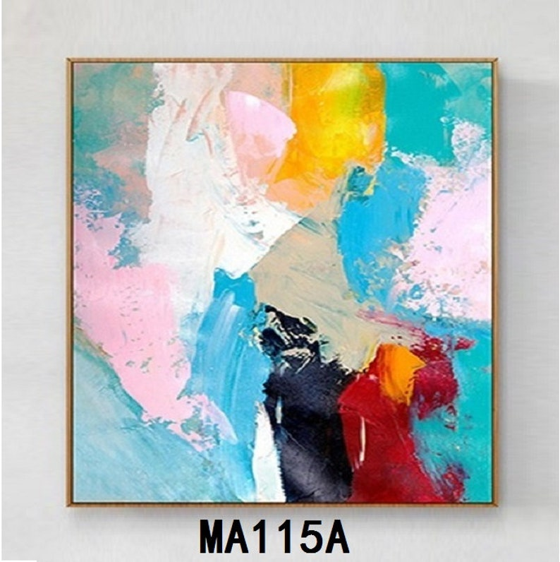 Abstract Oil Painting On Canvas Modern Oil Painting Hand Painted Large Wall Art For Home Decor MA115