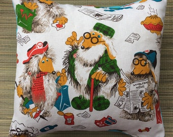 My wombles pillow case, I used to leave