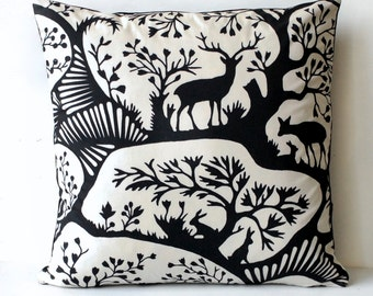 Thomas Paul Black and White Forest Print