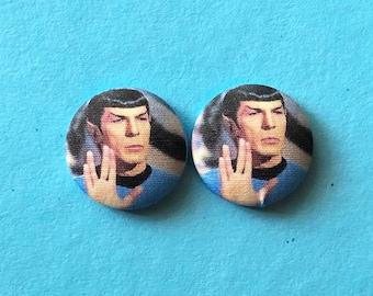 Spock Star Trek earrings