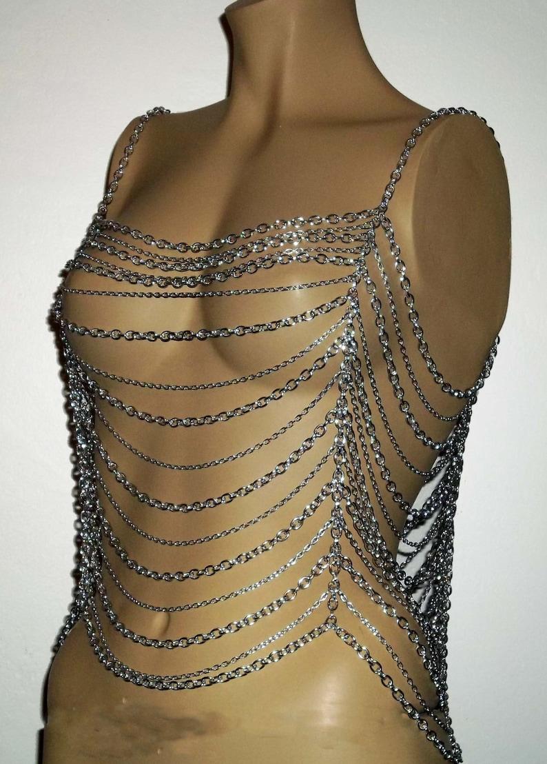 Body-Jewelry  Chainmail  Women\u2019s Clothing Apparel