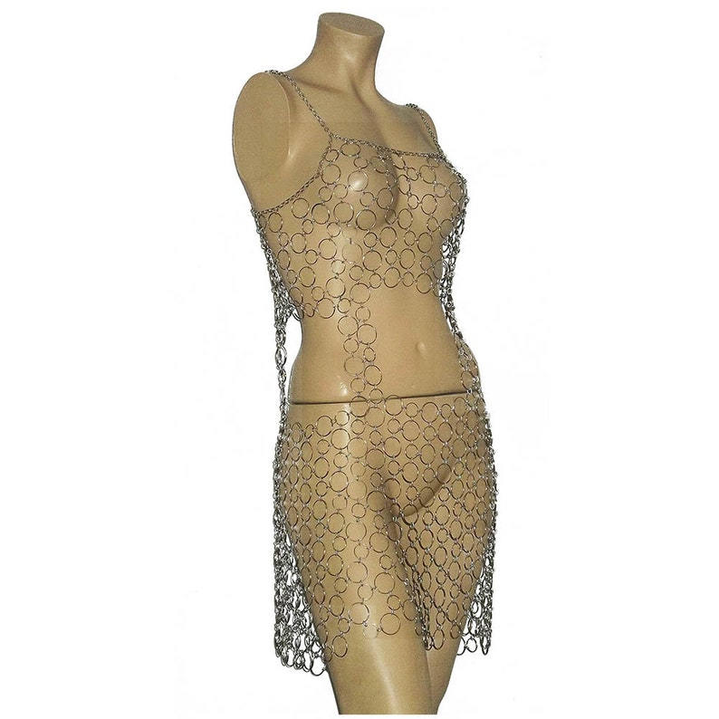 Mens erotic chainmail wear