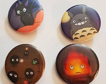 Studio Ghibli Pins