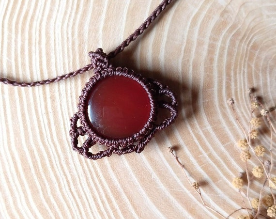 Elven Carnelian necklace