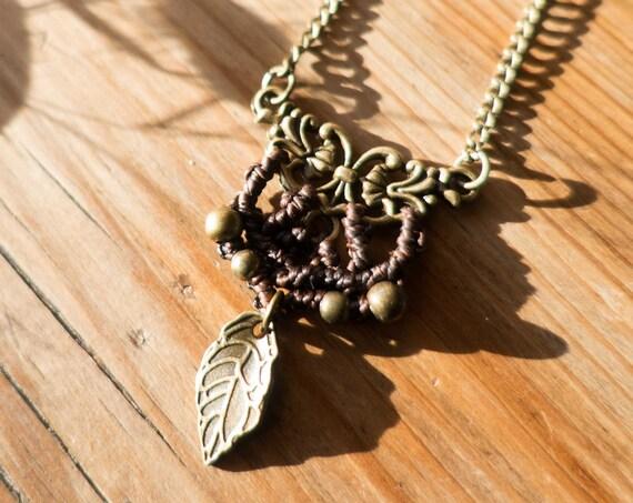 Black elven necklace