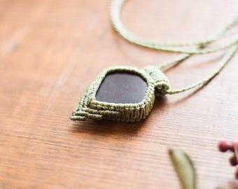 Black Onyx macrame necklace, onyx macrame necklace, gemstone black onyx necklace, gemstone black onyx pendant, gemstone chakra onyx necklace