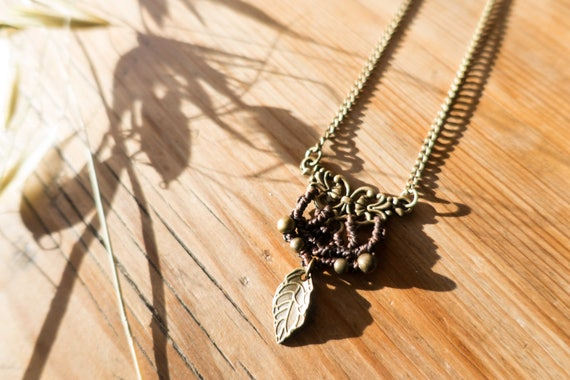 Black elven necklace