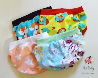 Children's underwear, assorted prints pack of 3, boy or girl, child briefs, toddler underpants