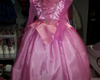 aurora sleeping beauty princess dress inant  toddler children costum