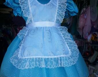Alice In Wonderland dress toddler girl costume