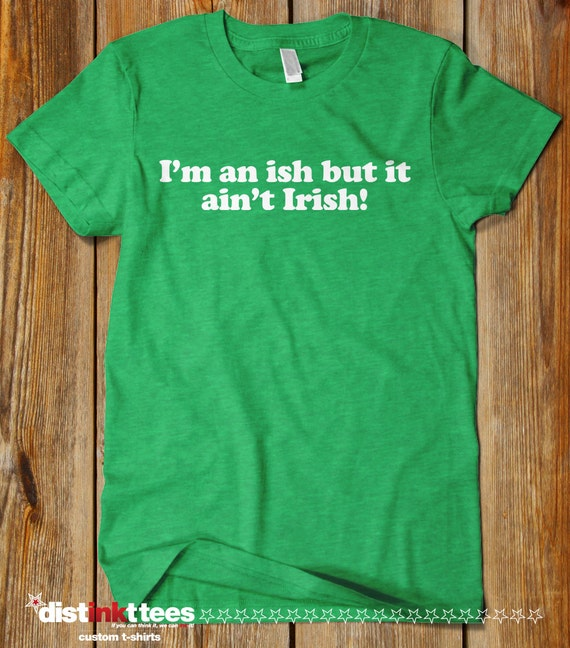 df0ccb53 I'm an ISH St. Patrick's Day T-Shirt Cute Funny This | Etsy