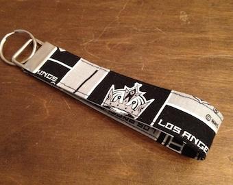 LA Kings key fob wristlet