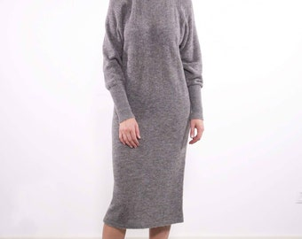 Cashmere dress / Sweater dress / Knit dress / Wool dress / Casual dress / Cosy dress / Nove Cashmere dress