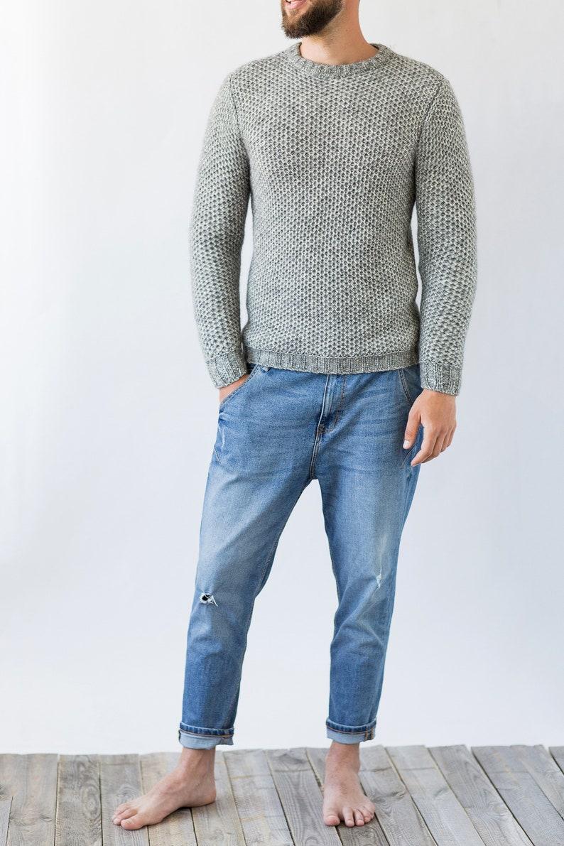 1618551befb5 Alpaca sweater   Sweaters for men   Wool sweater   Oversized