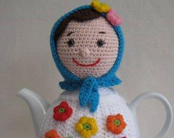 Russian Doll Teacosy PDF CROCHET PATTERN Tea Cosy Matryoshka Babushka