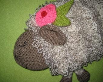 Sheep Hot Water Bottle Cover Cosy PJ Pyjama Case Crochet PATTERN PDF