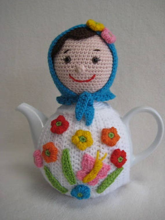Haakpatroon Matroesjka Theemuts Baboesjka Russian Doll Thee Etsy