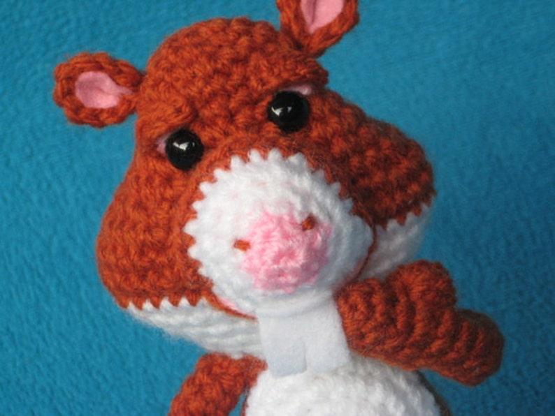 Haakpatroon Hamster Pdf Knuffel Dieren Haken Etsy
