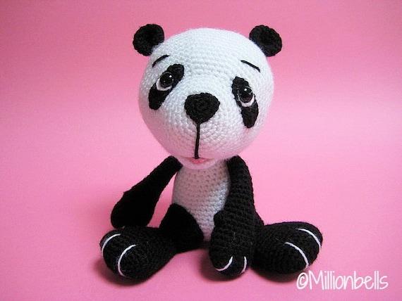 Amigurumi Baby Panda Beer Beertje Pdf Haakpatroon Etsy