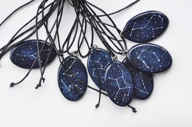 Leo pendant July August birthday Constellation Astrology jewelry Horoscope Personalized gift Zodiac