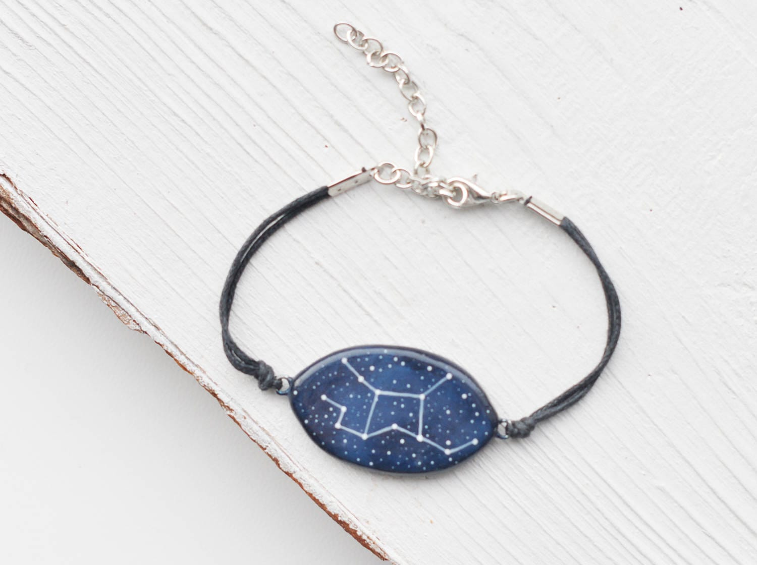 Virgo Bracelet Zodiac September Birthday Constellation Etsy