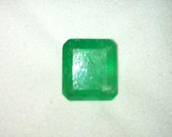 COLUMBIAN EMERALD Gemstone Apple Green 4.92 Carats