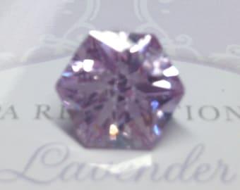 14 Vintage PINK LAVENDER ICE Lab Created Gemstones Lot 106.65ctw