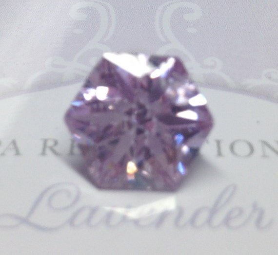 14 Vintage PINK LAVENDER ICE Lab Created Gemstones Lot 106.65ctw