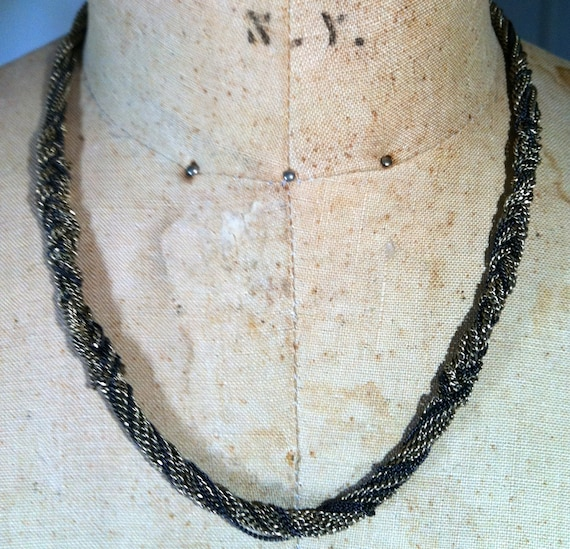 KENNETH COLE Vintage Chain Necklace 21""