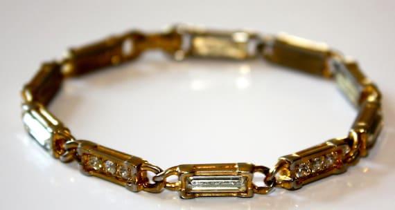 1960s Vintage SWAROVSKY -  Rhinstone Bracelet