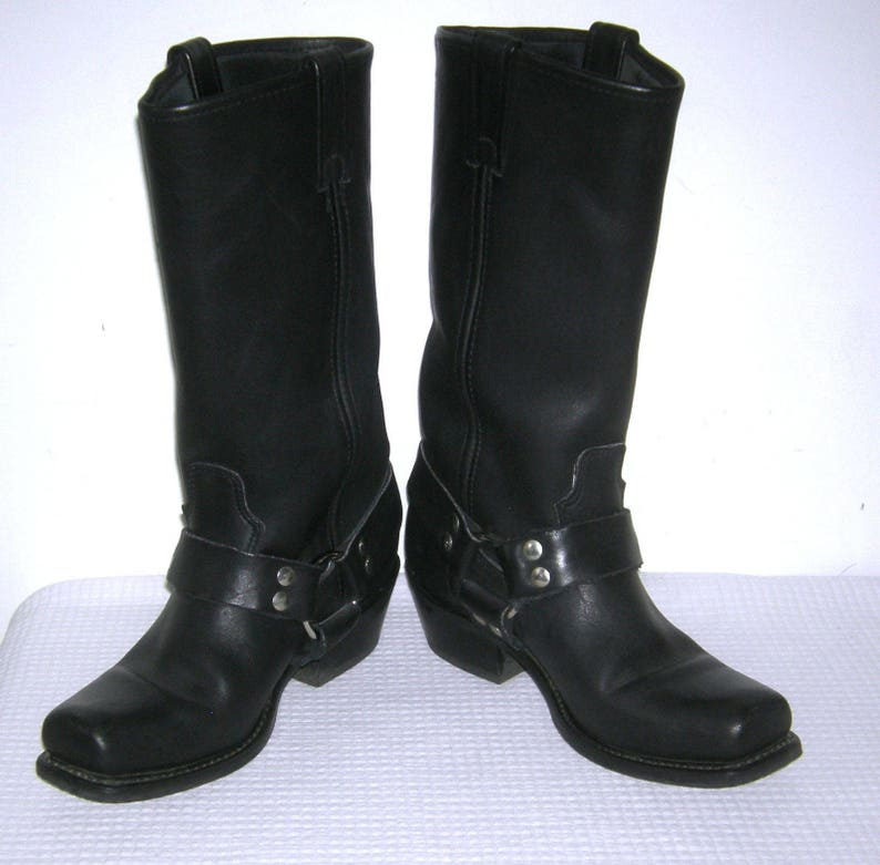 eaf43961bf38 Vintage DOUBLE H HH Sonora Boots  Leather