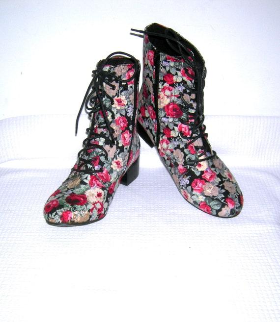 Vintage 1960s Haight-Ashbury Boots/ Mod Go-Go Boot