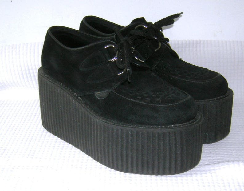 8256facc301 LONDON UNDERGROUND  Triple Sole CREEPERS  Platforms  Oxfords