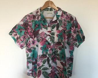0be8dd7d Pink hawaii shirt | Etsy