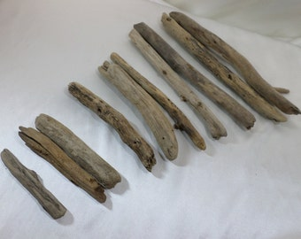 Bulk Driftwood - Driftwood Pieces - Craft Supplies - 10 Round Shaped Drift Wood Pieces - Perfect to make Christmas Tree