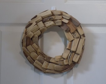 Driftwood Wreath - Driftwood Art - Decorative Driftwood Wreath - Ready For Your Personal Touch !