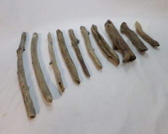 Make a Christmas Tree Bulk Driftwood - 10 Driftwood Pieces - Craft Supplies - Great Selection!