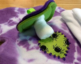 Plush Pacifier Chupie Nuk Binkie for your Baby Zombie