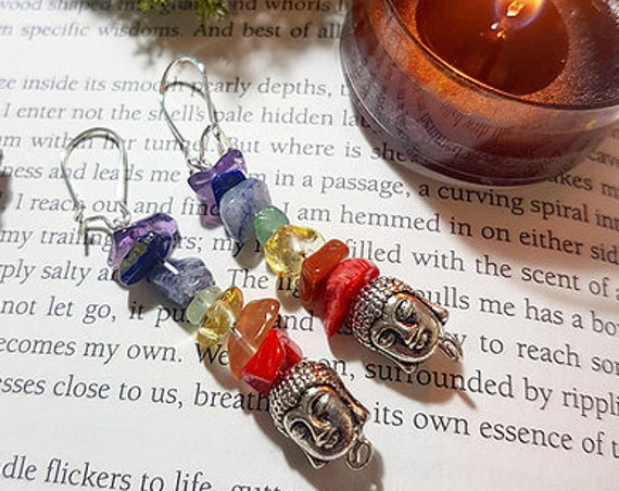 Buddha Chakra earrings