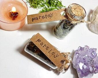 Magical herbvial of Parsley