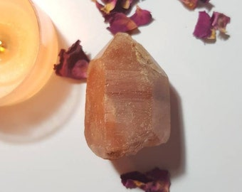 Large Chinese Fire Quartz - Fire Quartz - Red Quartz - Rare crystals