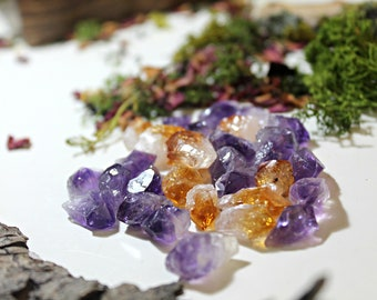 Amethyst or Citrine point