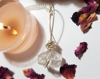 Quartz necklace - Crystal necklace - Quartz -  Master healer